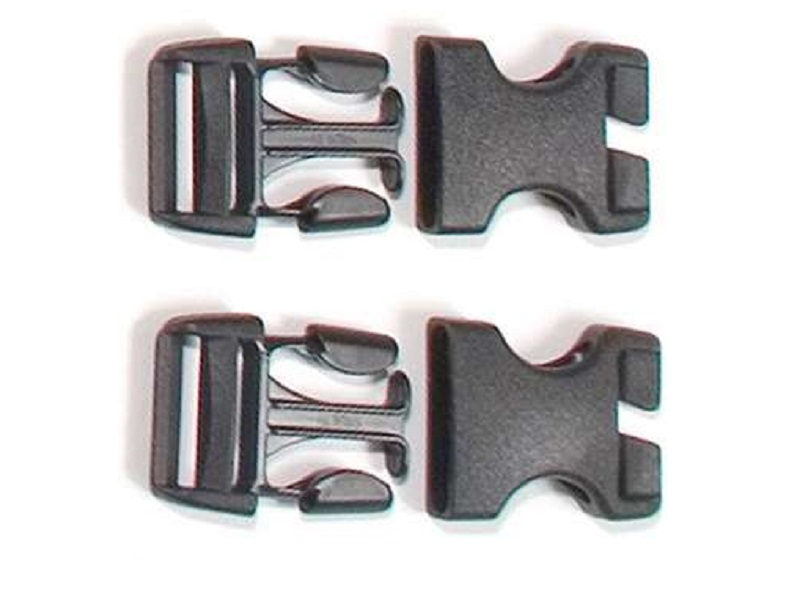 ORTLIEB E135 Rack-Pack İçin Yan Tokalar-Stealth- Side-release Buckles For Rack-Pack