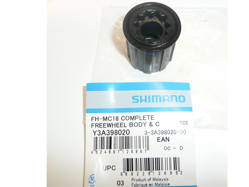 Shimano Complete Freewheel Body FH-MC18 Y3A398020