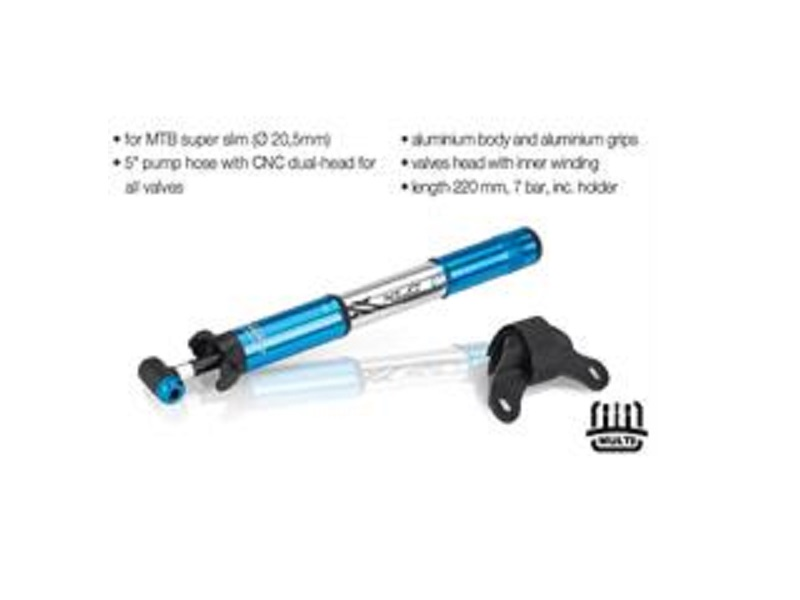 XLC POMPA ROAD PU-R03 7BAR/100 PSI ALL CP/MAVİ AV/FV